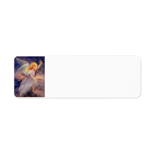 Starry Angel Label Return Address Label