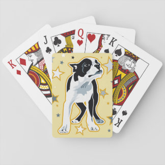 starry boston playing cards