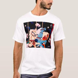 starry carousel art T-Shirt