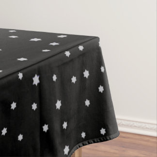 Starry Design Black Tablecloth