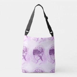 Starry Flapper - Purple Crossbody Bag