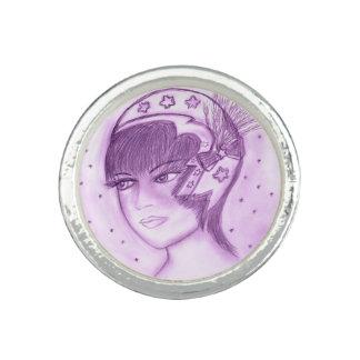 Starry Flapper - Purple Ring