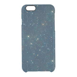 Starry Midnight Blue Sky Transparent Clear Clear iPhone 6/6S Case