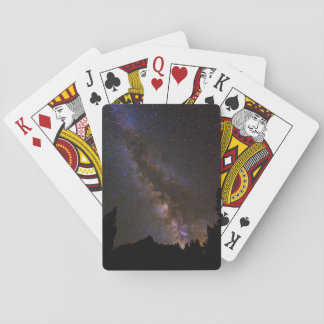 Starry Milky way, California Playing Cards
