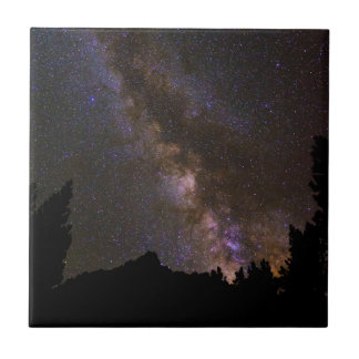 Starry Milky way, California Tile