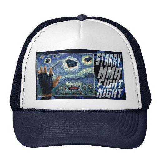 Starry MMA Fight Night Hats