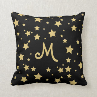 Starry Monogram Cushion