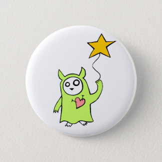 Starry Monster 6 Cm Round Badge