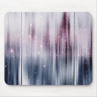 Starry Nebula Glitter Mouse Pad