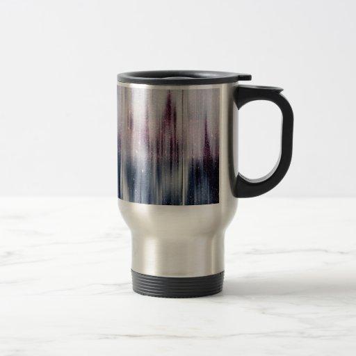 Starry Nebula Glitter Coffee Mugs