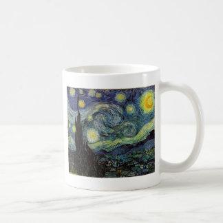 starry night,1889,Vincent van Gogh Coffee Mugs