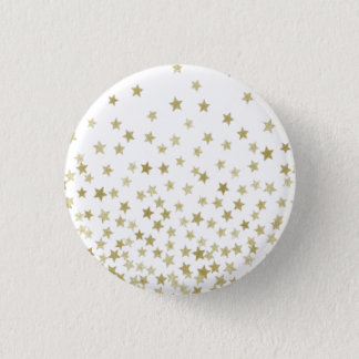starry night 3 cm round badge