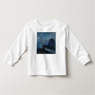 Starry night by Edvard Munch symbolist painter Tees