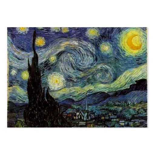 Starry night  by Van Gogh Business Cards