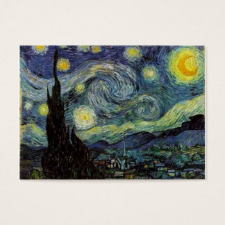 Starry night  by Van Gogh Business Card