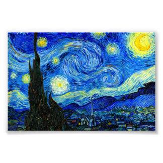 Starry Night by Van Gogh Fine Art Photo Prints