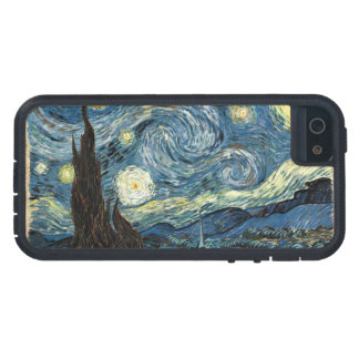 Starry Night by Van Gogh iPhone 5 Cases