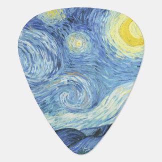 Starry Night by Van Gogh Plectrum