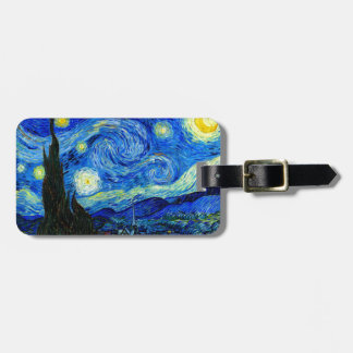 Starry Night by Van Gogh Tag For Bags