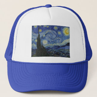 Starry Night by Vincent van Gogh - 1889 Trucker Hat