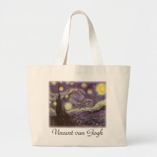 Starry Night by Vincent van Gogh Bags