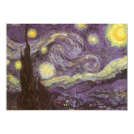 Starry Night by Vincent van Gogh, Birthday Party