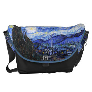 Starry Night by Vincent Van Gogh Courier Bag