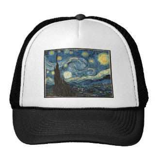 Starry Night by Vincent Van Gogh Hat