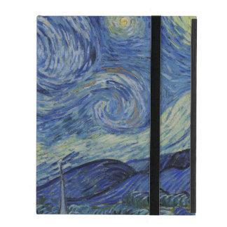 Starry Night by Vincent Van Gogh iPad Folio Case