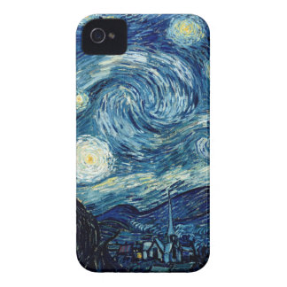 Starry Night By Vincent Van Gogh iPhone 4 Cases