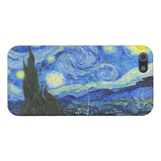 Starry Night by Vincent van Gogh iPhone 5/5S Cases