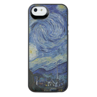 Starry Night by Vincent Van Gogh iPhone SE/5/5s Battery Case