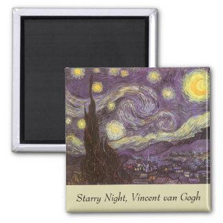Starry Night by Vincent van Gogh Fridge Magnets