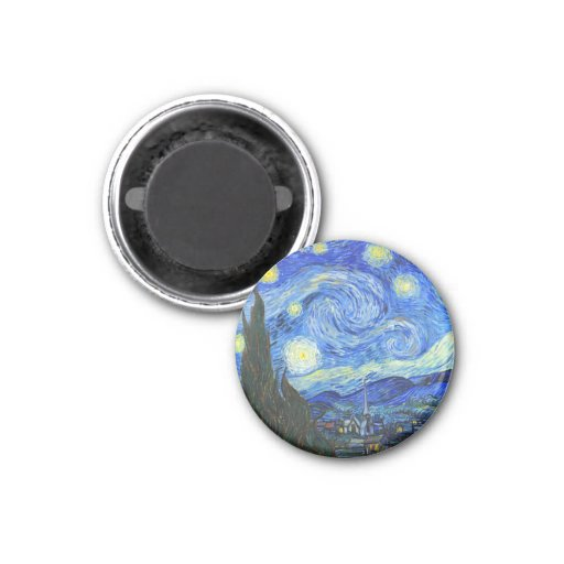 Starry Night by Vincent van Gogh Fridge Magnets