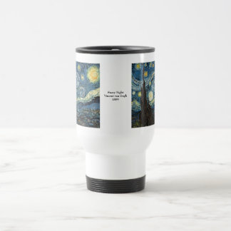 Starry Night by Vincent van Gogh 15 Oz Stainless Steel Travel Mug