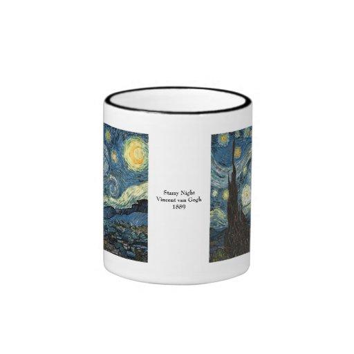 Starry Night by Vincent van Gogh Coffee Mugs