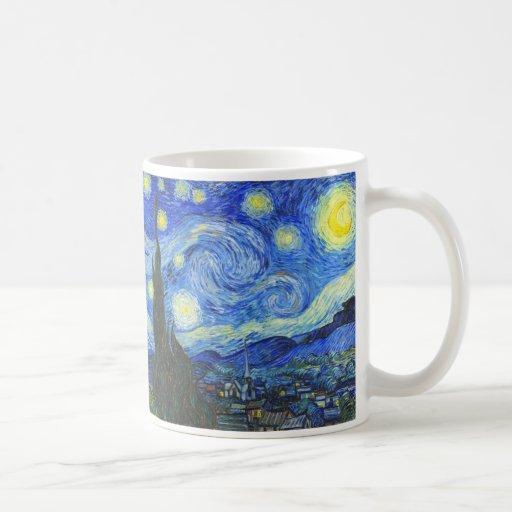 Starry Night by Vincent van Gogh Mugs