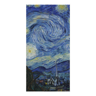 Starry Night by Vincent Van Gogh Photo Card Template
