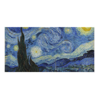 Starry Night by Vincent Van Gogh Photo Cards