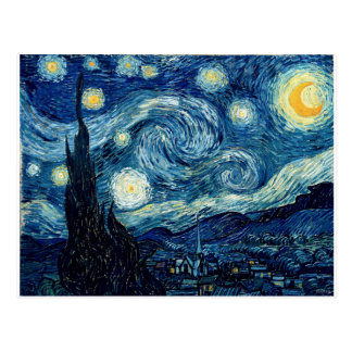Starry Night By Vincent Van Gogh Postcard