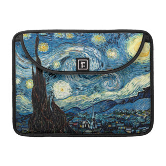 Starry Night - By Vincent Van Gogh Sleeves For MacBook Pro