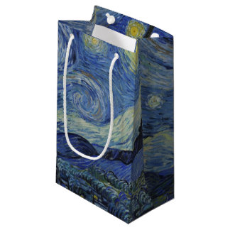 Starry Night by Vincent Van Gogh Small Gift Bag