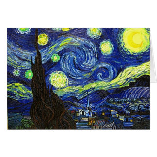 Starry Night Card