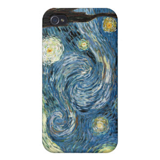 Starry Night Cover For iPhone 4