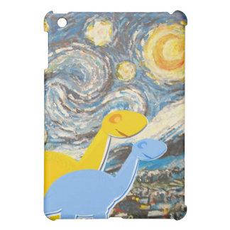 Starry Night Dinosaurs iPad Mini Cover