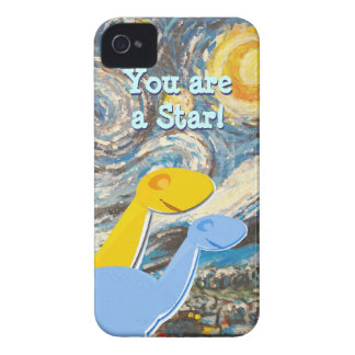 Starry Night Dinosaurs iPhone 4/ 4S Case iPhone 4 Case