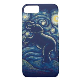 Starry Night elephant phone case