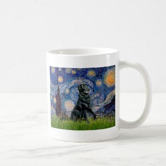 Starry Night - Flat Coated Retriever 2 Mug