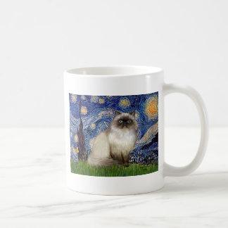 Starry Night - Himalayan cat 7 Mug