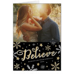 Starry Night | Holiday Photo Greeting Card
